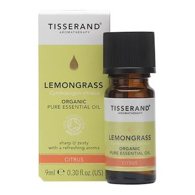 Tisserand Lemongrass Organic Essential Oil