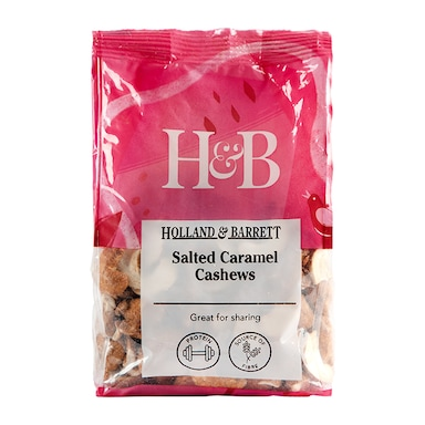 Holland & Barrett Salted Caramel Cashews 200g
