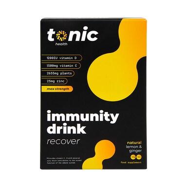 Tonic Health High Dose Immunity Drink Lemon & Honey Flavour 10 Sachets