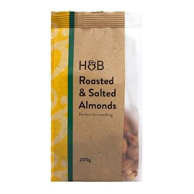 Holland & Barrett Roasted & Salted Almonds 200g