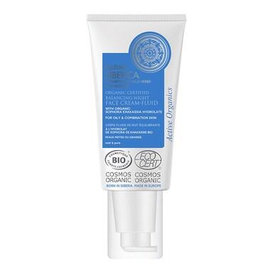 Natura Siberica Balancing Night Face Cream-Fluid