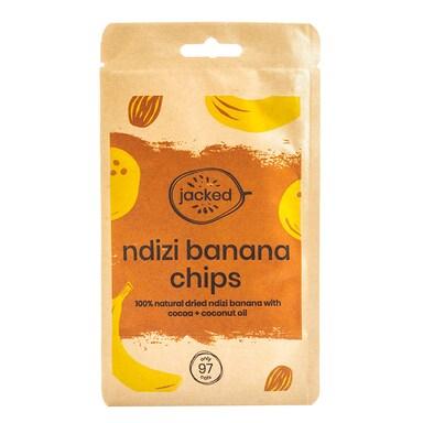 Jacked Ndizi Banana Chips With Cocoa 26g