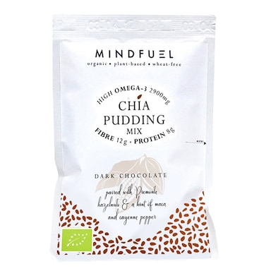 Mindfuel Chia Pudding Mix - Dark Chocolate 50g
