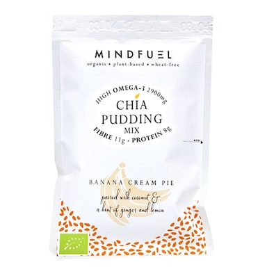 Mindfuel Chia Pudding Mix - Banana Cream Pie 50g