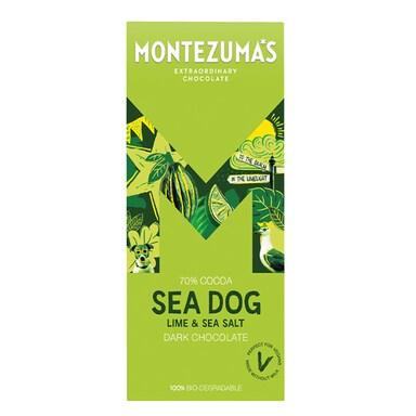 Montezuma's Sea Dog Lime & Sea Salt Bar 90g