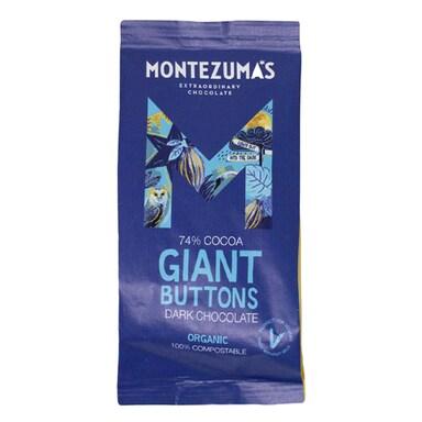 Montezuma's 74% Dark Giant Buttons 180g