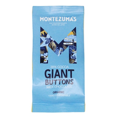 Montezuma's 37% Milk Giant Buttons 180g