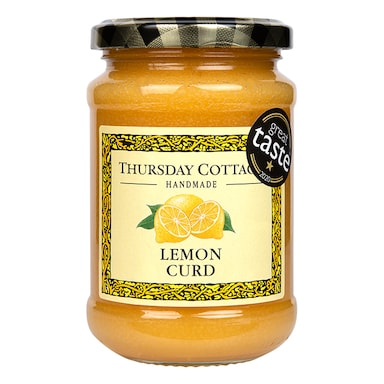 Thursday Cottage Lemon Curd (Refined Sugar) 310g