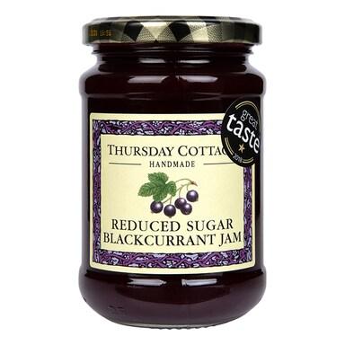 Thursday Cottage Reduced Sugar Blackcurrant Jam 315g