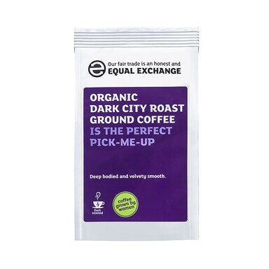 Equal Exchange Dark City Roast Coffee Beans 227g