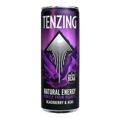 Tenzing Natural Energy Drink Blackberry & Acai 330ml