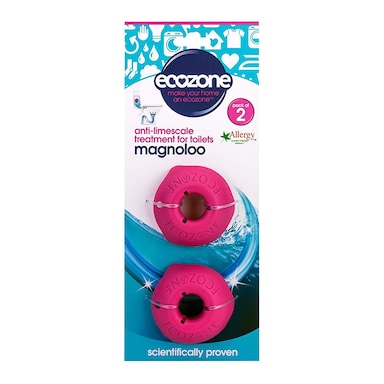Ecozone Magnoloo - Anti-Limescale For Toilets 2 Pack
