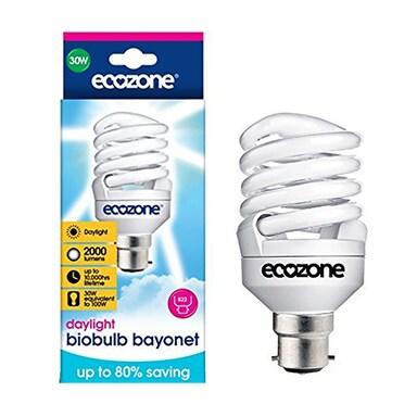 Ecozone Biobulb - 30w Daylight - Bayonet Single