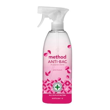 Method Antibac All Purpose Cleaner Wild Rhubarb 828ml