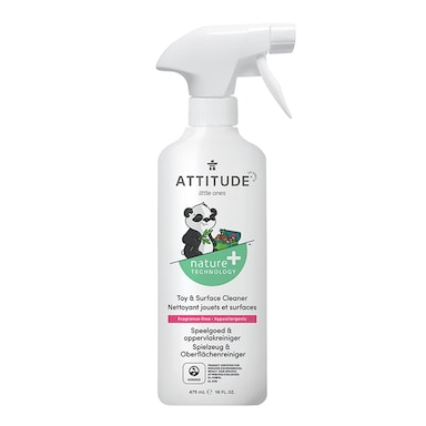 Attitude Little Ones - Fragrance Free Toy & Surface Cleaner 475ml