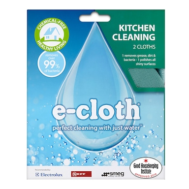 E-Cloth Kitchen Twin Pack 2 Pack