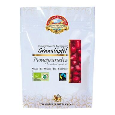 Pearls Of Samarkand Organic & Fairtrade Pomegranates 100g