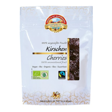 Pearls Of Samarkand Organic & Fairtrade Sweet Cherries 100g