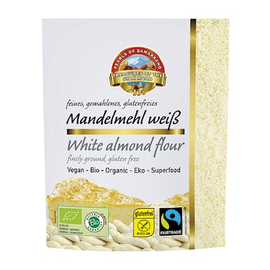 Pearls Of Samarkand White Almond Flour - Fairtrade 150g