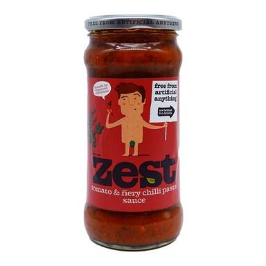 Zest Tomato & Fiery Chilli Pasta Sauce 340g