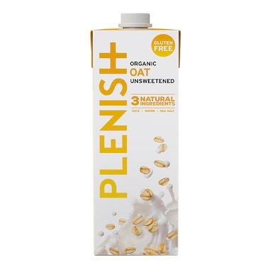 Plenish Organic Unsweetened Gluten Free Oat M*lk 1Ltr
