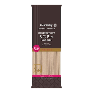 Clearspring Soba Noodles - 100% Buckwheat 200g
