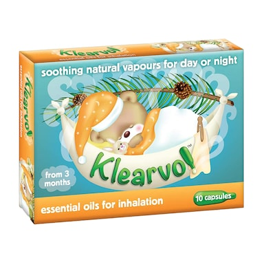 Klearvol - Essential Oils for Inhalation 10 Capsules