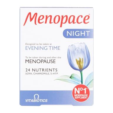 Vitabiotics Menopace Night 30 Tablets