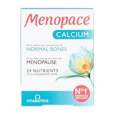 Vitabiotics Menopace Calcium 30 Tablets