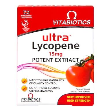 Vitabiotics Ultra Lycopene 30 Tablets