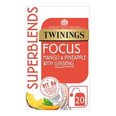 Twinings Superblends Focus 20 Tea Bags