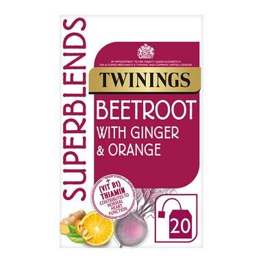 Twinings Superblends Beetroot 20 Tea Bags