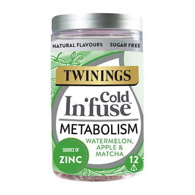 Twinings Cold In'Fuse Metabolism with Zinc 12 Infusers