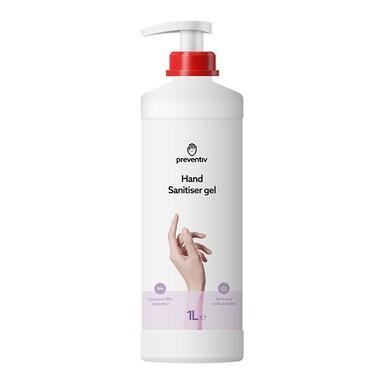 Preventiv Hand Sanitiser Gel 1L