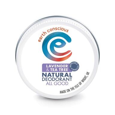 Earth Conscious Natural Deodorant Balm - Lavender & Tea Tree