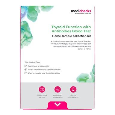Medichecks Thyroid Function with Antibodies Blood Test