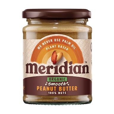Meridian Organic Peanut Butter Smooth 280g
