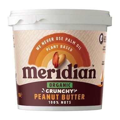 Meridian Organic Peanut Butter Crunchy 1kg