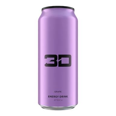 3D Energy Purple Grape 473ml
