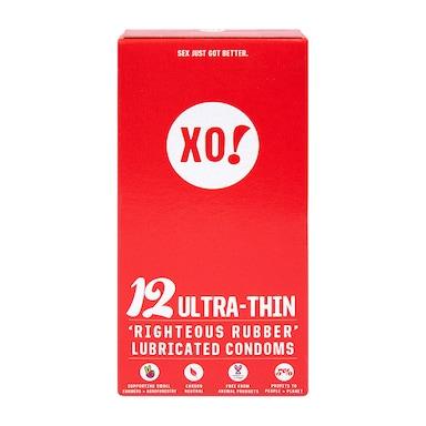 XO! Ultra-Thin Condoms - 12 Pack