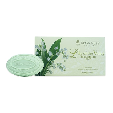 Bronnley Lily Of The Valley Soap Bar Set