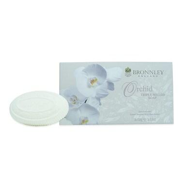 Bronnley Orchid Soap Bar Set