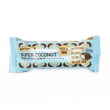 Rhythm 108 Swiss Chocolate Bar Super Coconut 33g