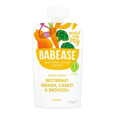 Babease Butternut Squash Carrot & Broccoli 100g