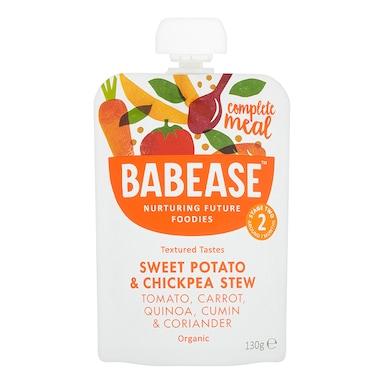 Babease Organic Sweet Potato Chickpea Stew 7m+ 130g