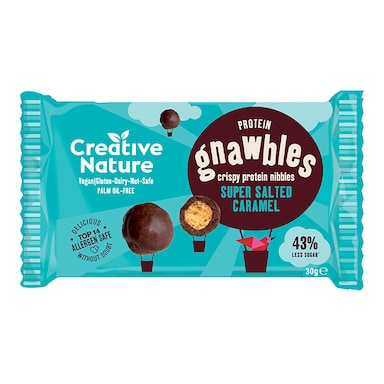 Creative Nature Salted Caramel Protein Gnawbles 30g