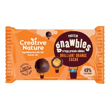 Creative Nature Chocolate Orange Protein Gnawbles 30g