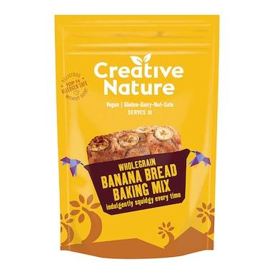 Creative Nature Wholegrain Banana Bread Baking Mix 250g