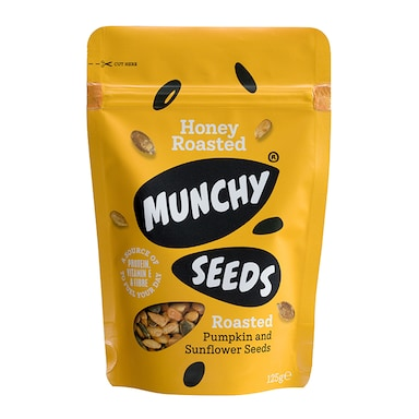 Munchy Seeds Honey Roasted Pouch 125g