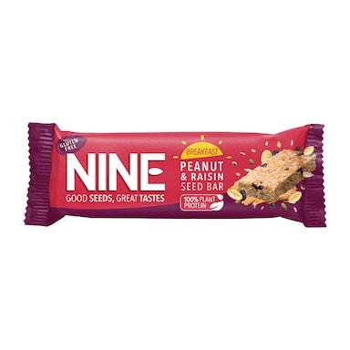 Nine Breakfast Fruit & Nut Bar 50g